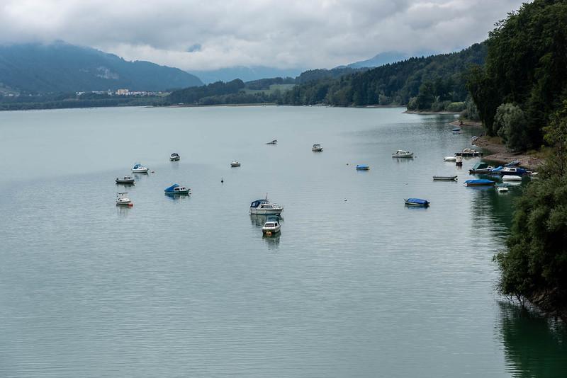Boats on Sarine