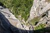 Montsalvens Dam with Spillway at Bottom