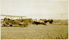 """7.  The airplane on left is labeled Reliable Flying Service / Watertown - Conn.  The airplane appears to be a New Standard Aircraft model D 25 (or variation).  See photo 8, article in Burlington (NC) Daily Times.  Photo labeled """"Airplanes at Charlie Lee Martindale Airport in the 30s..."""""""