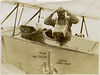 4.  Frank Turgeon, Jr. was an aerial and portrait photographer active in the 1930s in Palm Beach, FL.  It is not known if the person in the airplane is Turgeon.