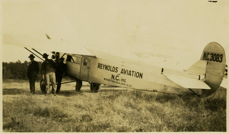 "3.  NC3083 was a Fokker Universal registered to Reynolds Aviation in 1928<br /> ( <a href=""http://www.airhistory.org.uk"">http://www.airhistory.org.uk</a> ). ""The Fokker Universal or 'Standard' was the first aircraft built in the United States that was based on the designs of Dutch-born Anthony Fokker, who had designed aircraft for the Germans during World War I."" (Wikipedia)"
