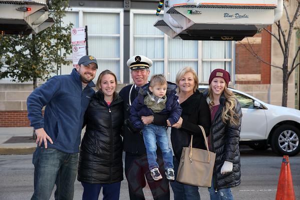 Battalion Chief John Collins Retirement November 2016