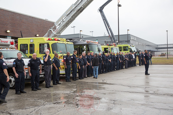 CFD Chief John Chickerillo Retirement O'Hare International Airport December 12, 2015