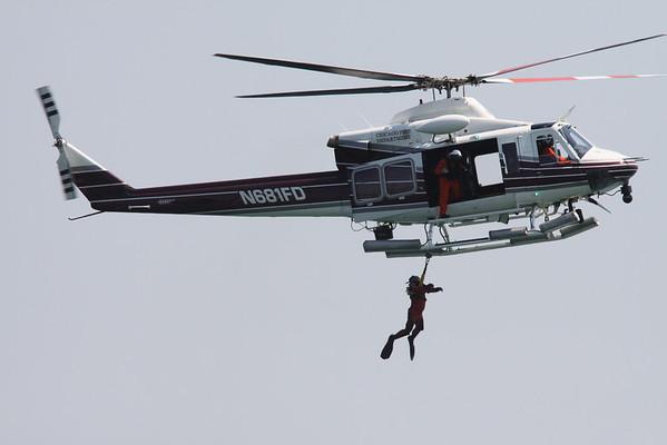 Air Sea Rescue Demo At Air Show August 14, 2009