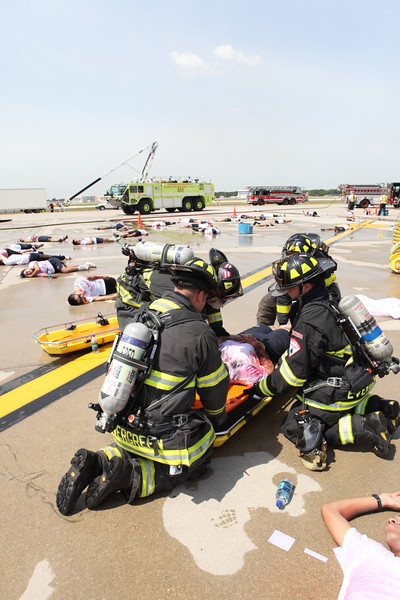 Midway Airport Disaster Drill 2012