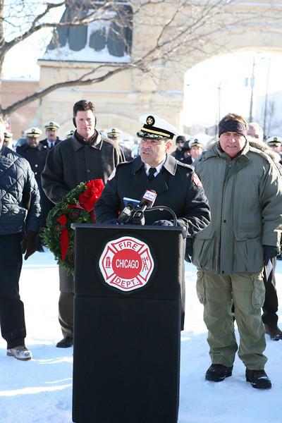 Re-Dedication Stockyard Memorial December 22, 2008