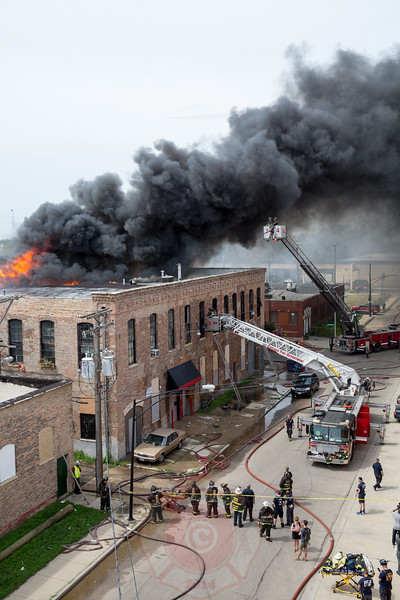 CHICAGO FIRE DEPARTMENT FIRES - INCIDENTS