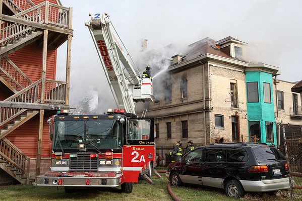 2-11 Alarm Fire 2943 W. Washington December