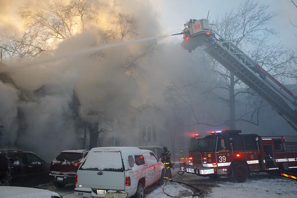 2-11 Alarm Fire 6151 S Wolcott December 26, 2017