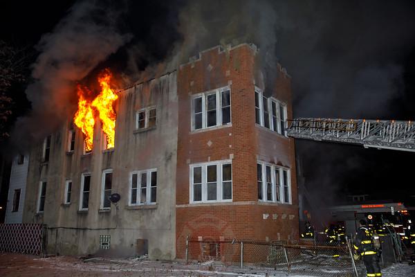 2-11 Alarm of Fire 6800 S. Aberdeen January 2018