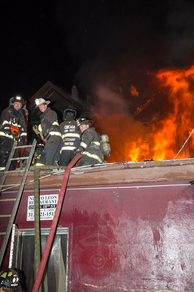 2-11 Alarm of Fire Nuevo Leon 1511 W. 18th Street December 2015