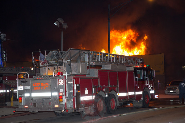 Still & Box Alarm Fire Fullerton and Laramie April 4, 2016