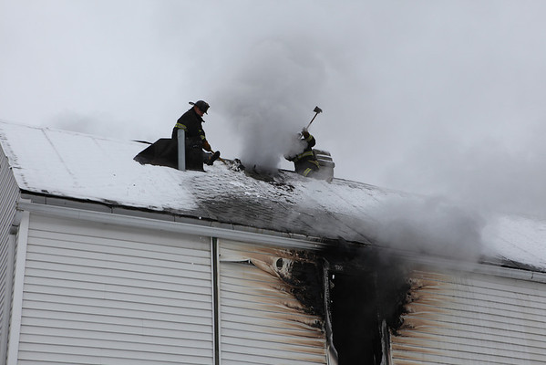 Working Fire 5235 S. Marshfield February 26, 2011