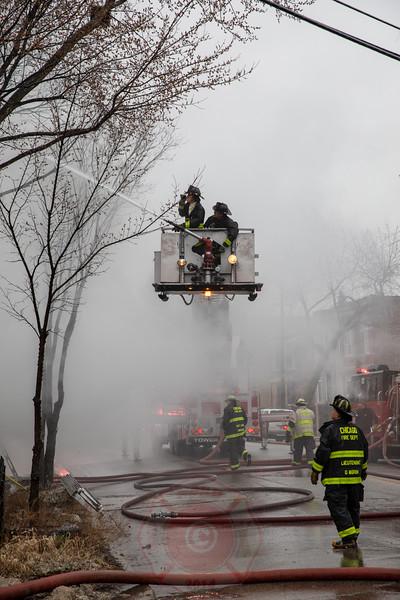 Still & Box Alarm Fire 1831 S. Kedzie April 2018