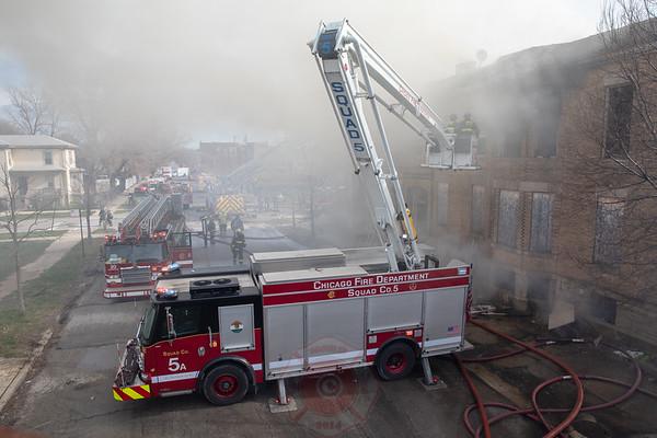 Still & Box Alarm Fire 257 W 61st Place April 2018