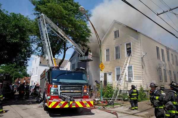 Still & Box Alarm Fire 4643 S. Wood Street