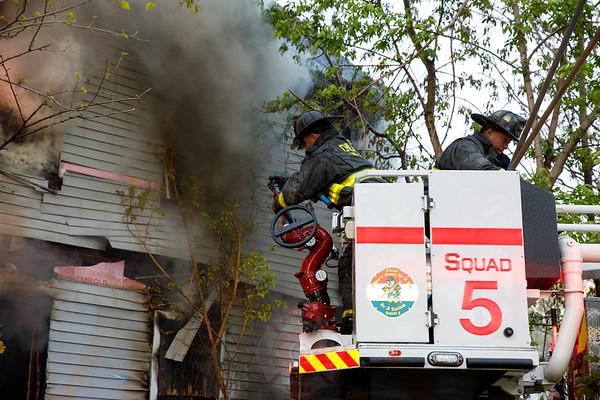 Still & Box Alarm Fire 5612 S. Lasalle May 7, 2017