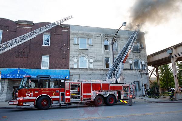 Still & Box Alarm Fire 5900 S. State Street 2017