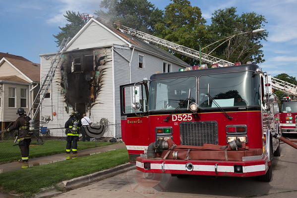 Working Fire 3600 S. Rockwell August 3, 2016