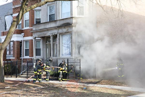 Working Fire  4907 S. Wabash January 06, 2017
