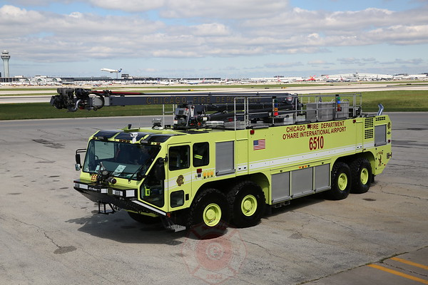 2 New Oshkosh 8x8 Strikers for Chicago O'Hare Airport September 13, 2014