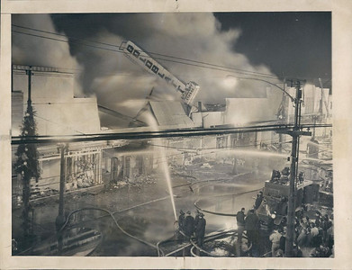 12-19-56' GOLDBLATTS STORE FIRE