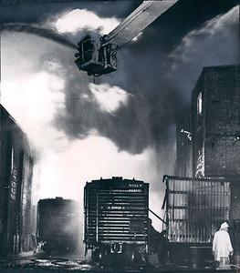 11-30-1967 ILLINOIS CENTRAL YARD WAREHOUSE FIRE