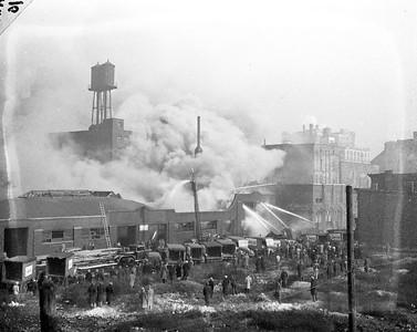 1944 SUN TIMES GARAGE FIRE