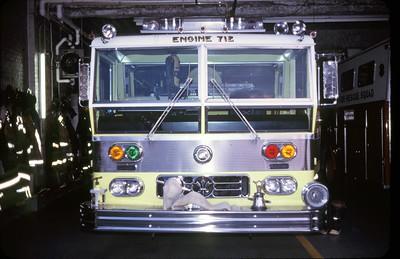 DEERFIELD ENGINE 712  WARD LAFRANCE