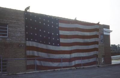 DEERFIELD LARGE FLAG