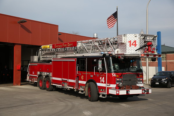 CFD New Emergency One Tower Ladders - Tower 14 , 37,and 39