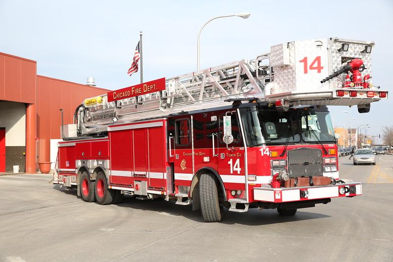 CHICAGO FIRE DEPARTMENT APPARATUS