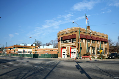 ENGINE 121 NEW AND OLD STATION