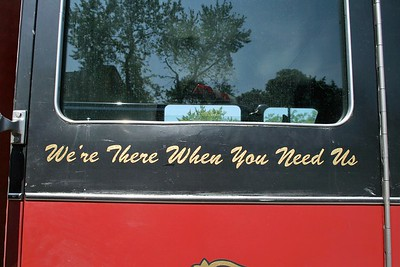 CFD WERE THERE WHEN YOU NEED US SIGN