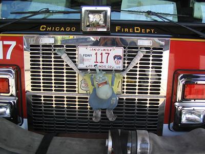 CHICAGO FD ENGINE 117'S RIDER