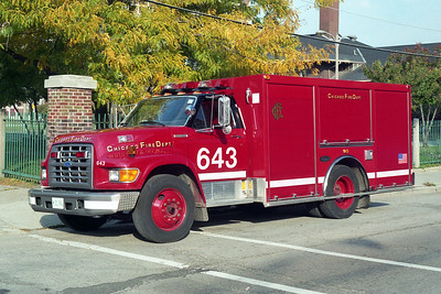 CHICAGO FD  AIR MASK 6-4-3  FORD F - LUVERNE