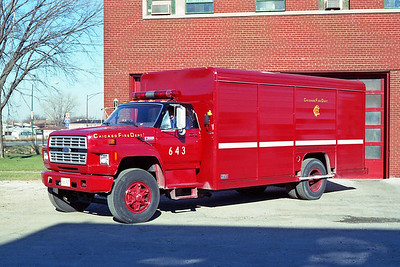 CHICAGO FD  AIR MASK 6-4-3  FORD F - MICKEY BODY