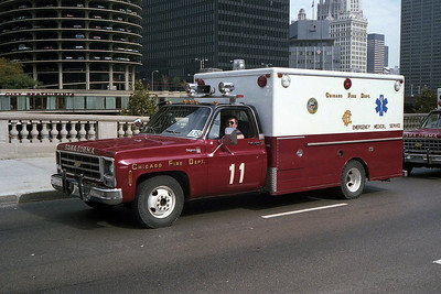 AMBULANCE 11  CHEVY