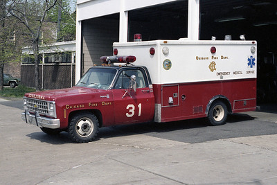AMBULANCE 31  CHEVY-ABLE