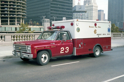AMBULANCE 23  CHEVY - ABLE     DOWNTOWN