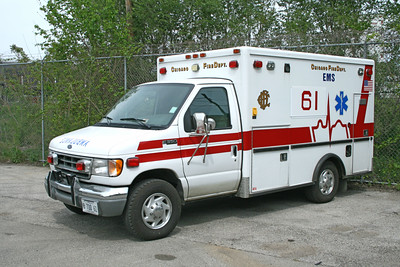 CHICAGO AMBULANCE 61