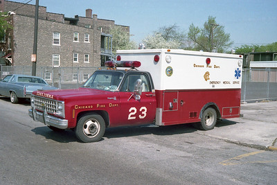 AMBULANCE 23  CHEVY - ABLE
