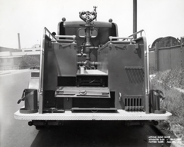 AUTOCAR - AMERICOACH  REAR VIEW