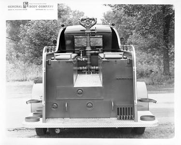 AUTOCAR - GENERAL BODY REAR VIEW