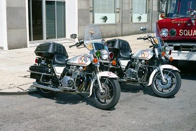BIKE MEDICS   861 AND 862   1982 KAWASAKI 1000cc    SHOP #'s  G-455 AND G-456