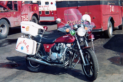 BIKE MEDICS    861  1979 KAWASAKI 650cc   AT SHOPS   SHOP #'s  G-442
