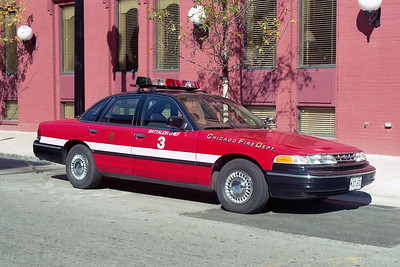 BATTALION 3   FORD CROWN VICTORIA   AT DISTRICT