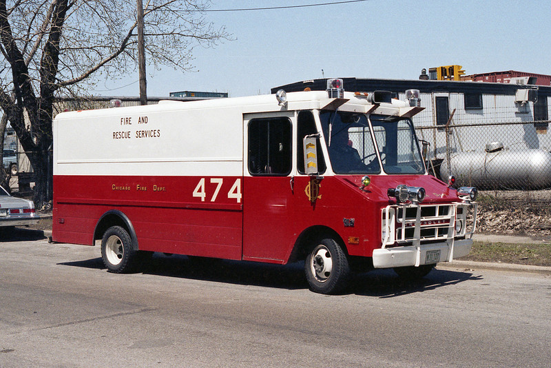CHICAGO FIRE RESCUE 474