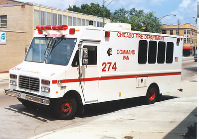 COMMAND VAN 274 NOW A SPARE