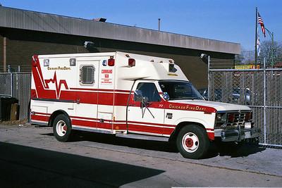 CHICAGO COMMAND VAN 274  C-717